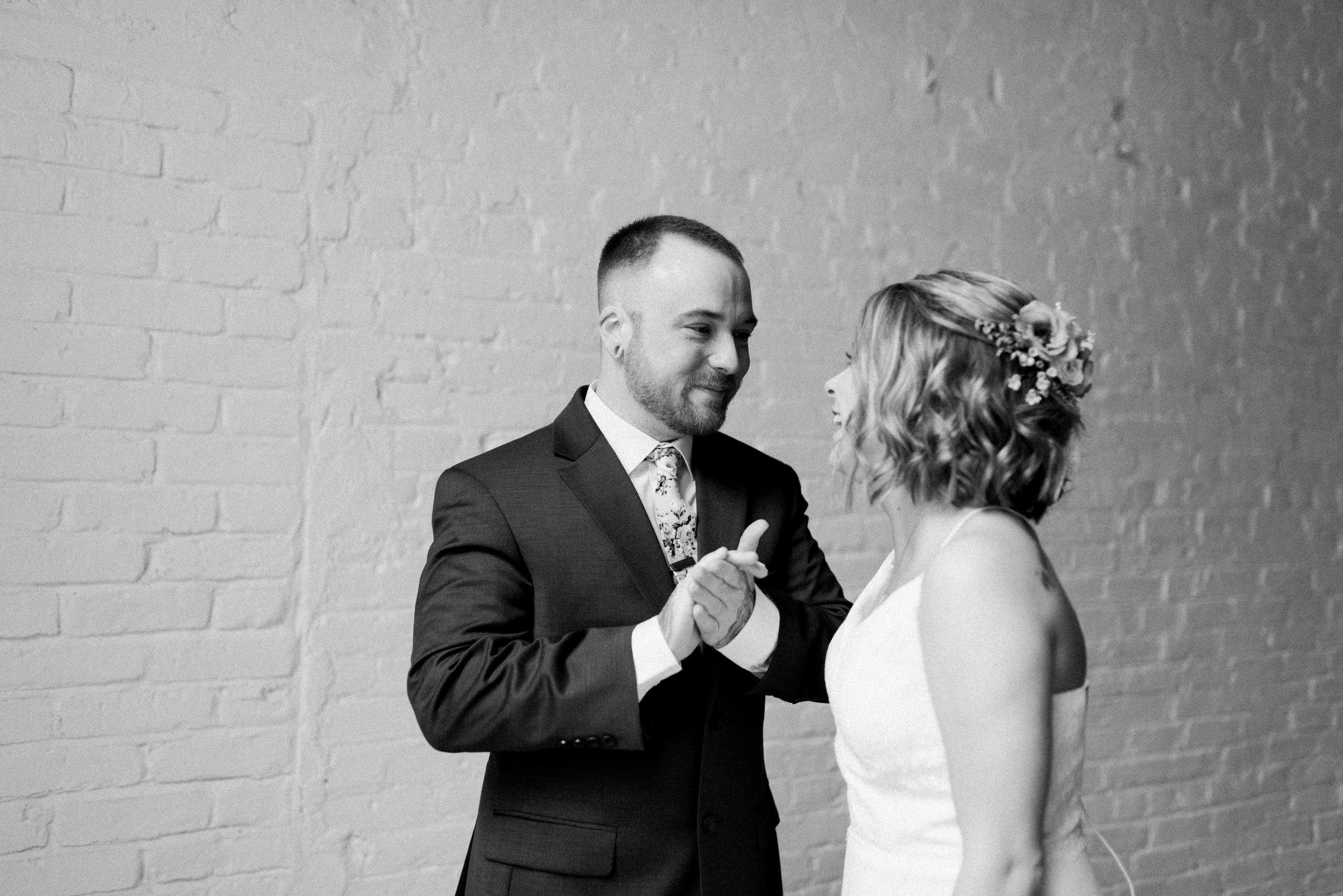 Intimate Something Old Dayton Wedding | Dayton Wedding Photographer