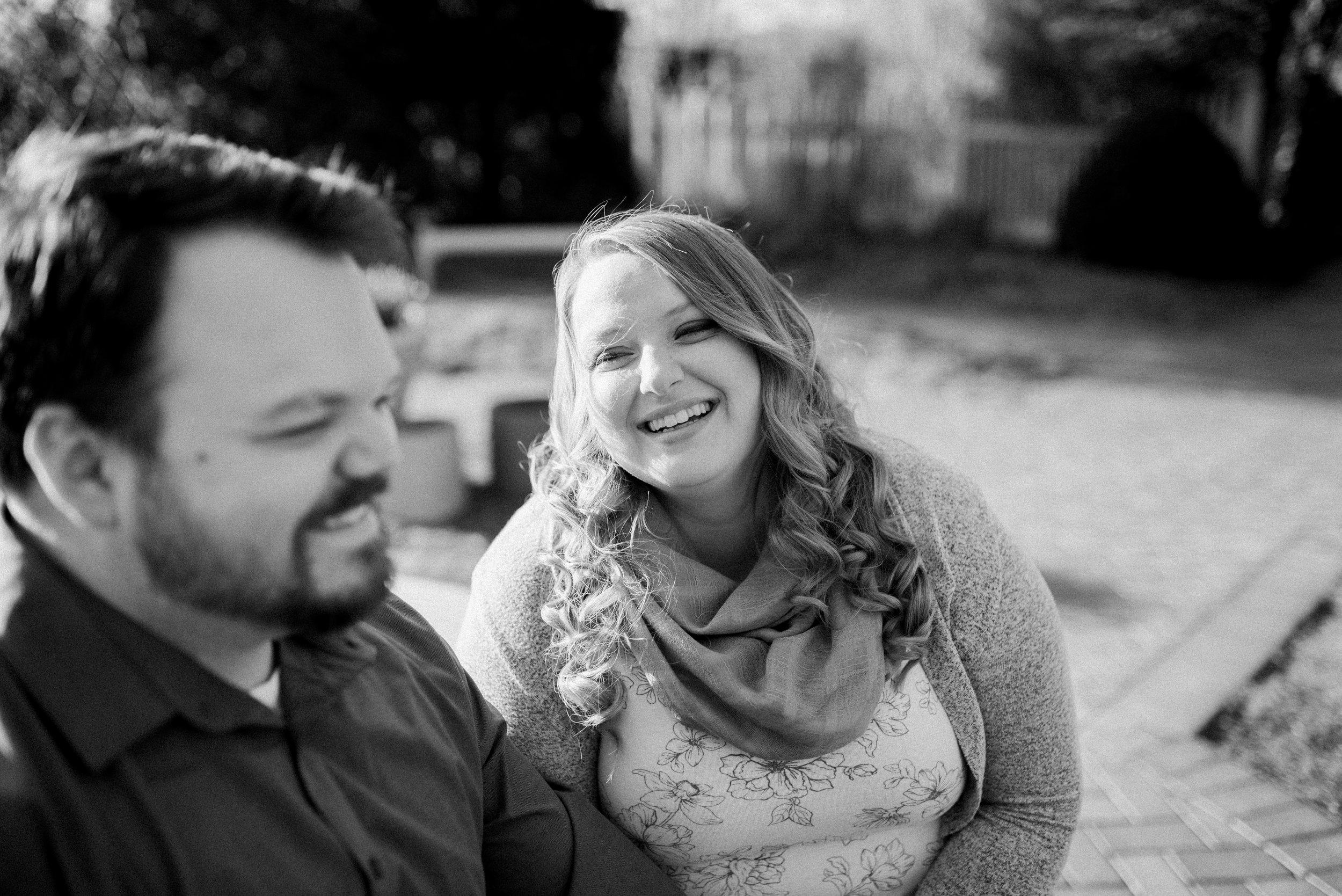 Wegerzyn Gardens MetroPark Engagement Portraits | Dayton Wedding Photographer