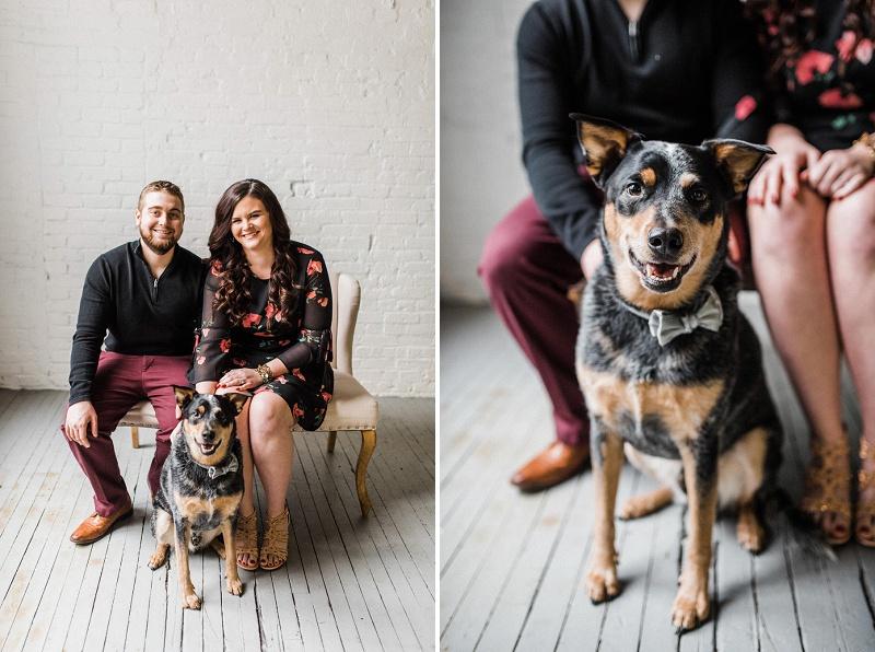 Urban Engagement Session   Dayton Wedding Photographer
