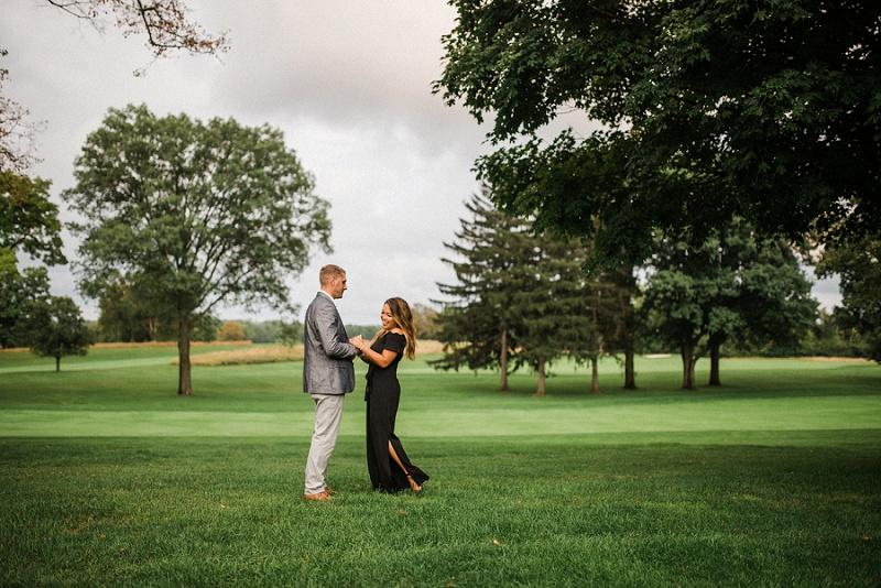 NCR Country Club Anniversary Portraits | Dayton Portrait Photographer