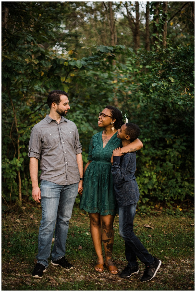 Glen Helen Nature Reserve Family Portraits | Yellow Springs Photographer