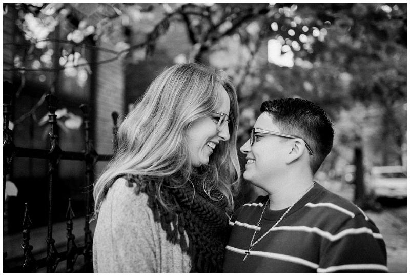 Couple's Portraits in Oregon Historic District   Dayton Portrait Photographer