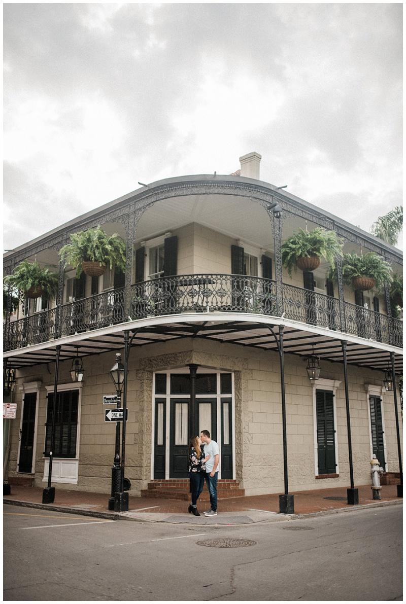Juliann & Toby | New Orleans, LA | French Quarter Engagement Session
