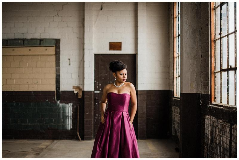 Glamorous Industrial Anniversary Portraits | Dayton, Ohio