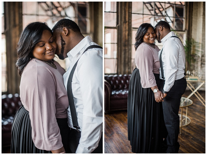 Crystal & Boyce Engagement Session | Something Old Dayton