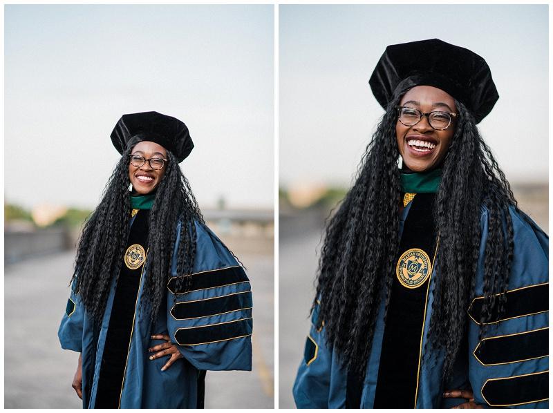 Dr. Boakye Graduate Portraits | Dayton, Ohio