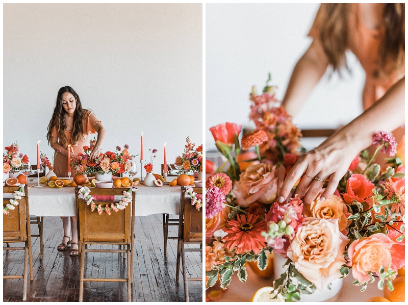 Content Creation Styled Shoot | Poppy Faye Floral