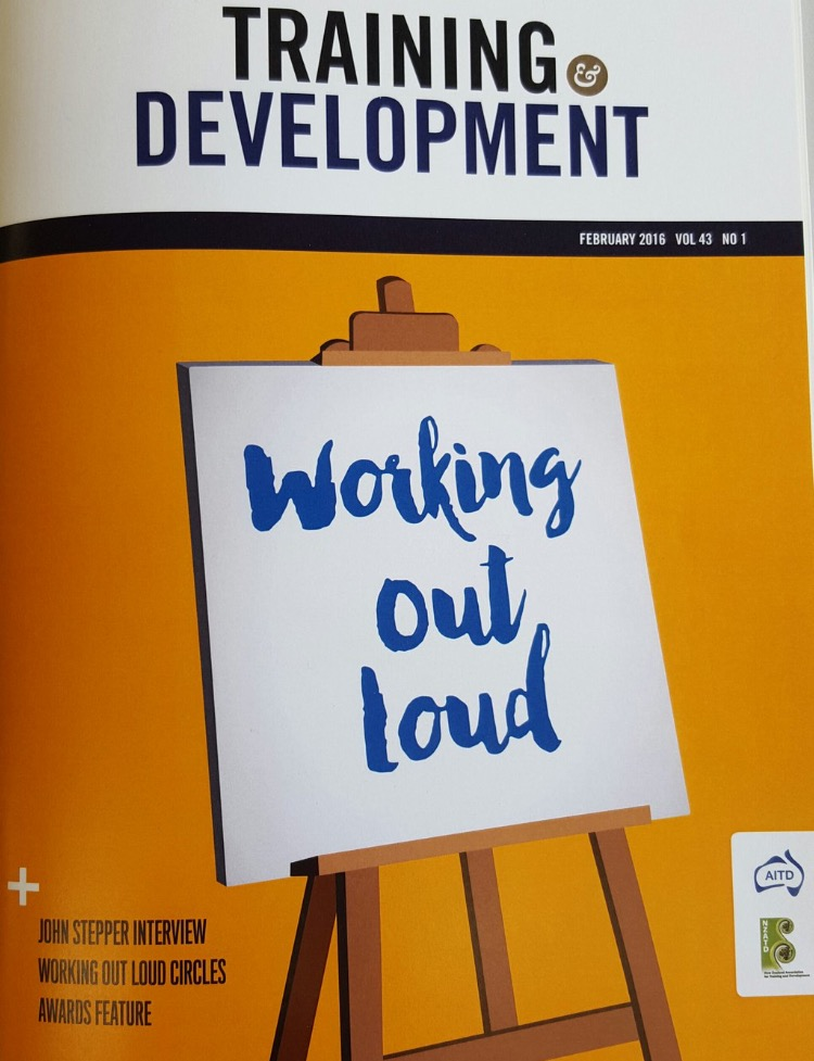 """Copy of """"National Conversation on Working Out Loud"""""""