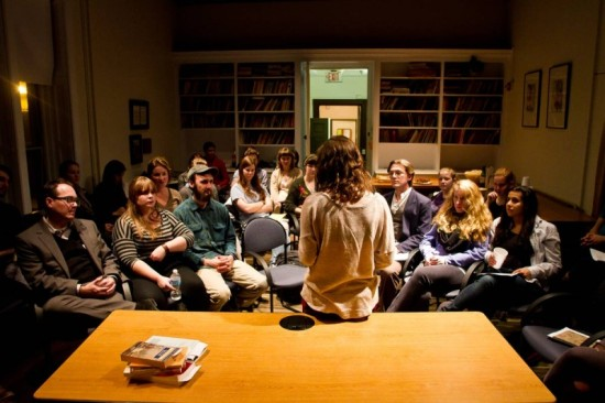 Photo credit: Wild Edge Poetry Reading in San Francisco