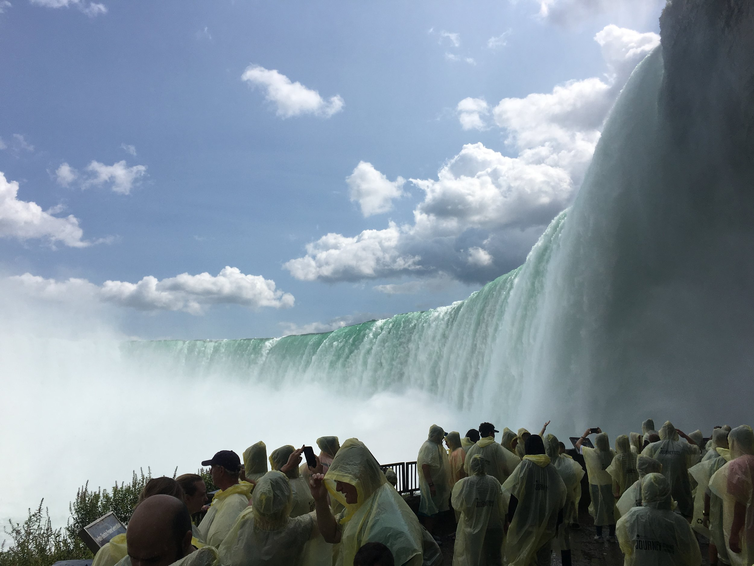 One of the highlights of the summer was seeing Niagara Falls for the first time