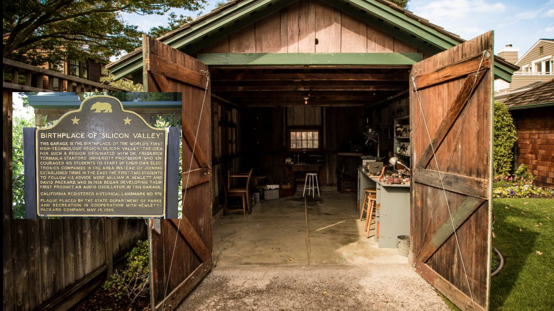 """The HP Garage, also known as """"The Birthplace of Silicon Valley,"""" spawned a myth about innovation that's no longer relevant (if it ever was)."""