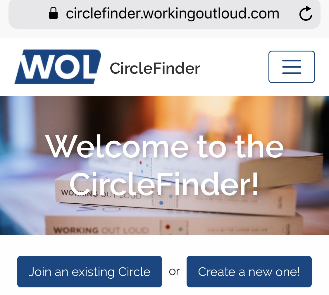 Click on the image to see the new CircleFinder