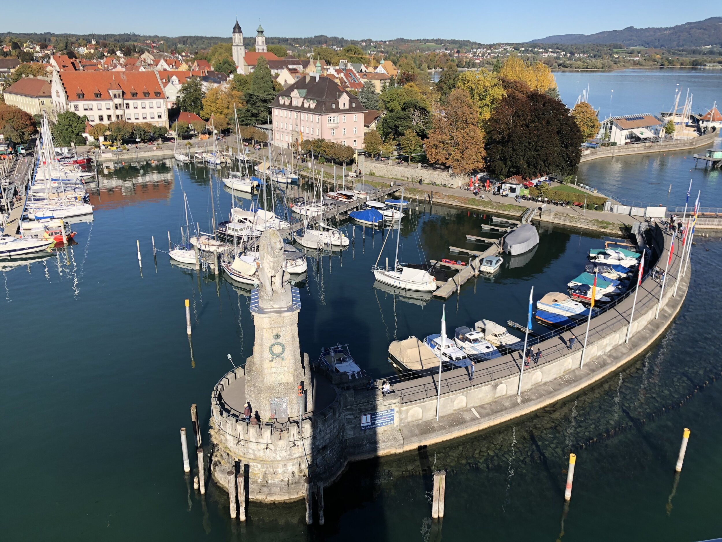Lindau from the Lighthouse