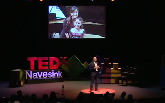 Click to view the TEDx talk. Mari's story starts at 04m:24s