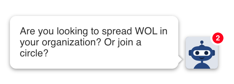 The new WOL chatbot. Try it!