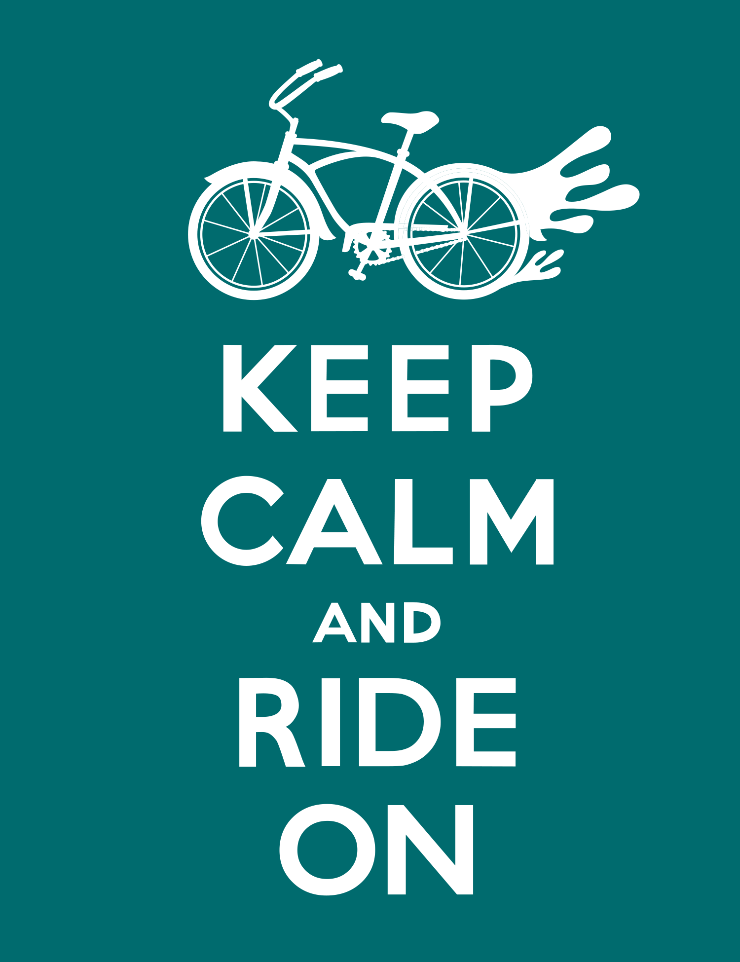 keep calm_ride_on_green_andi_bird.png