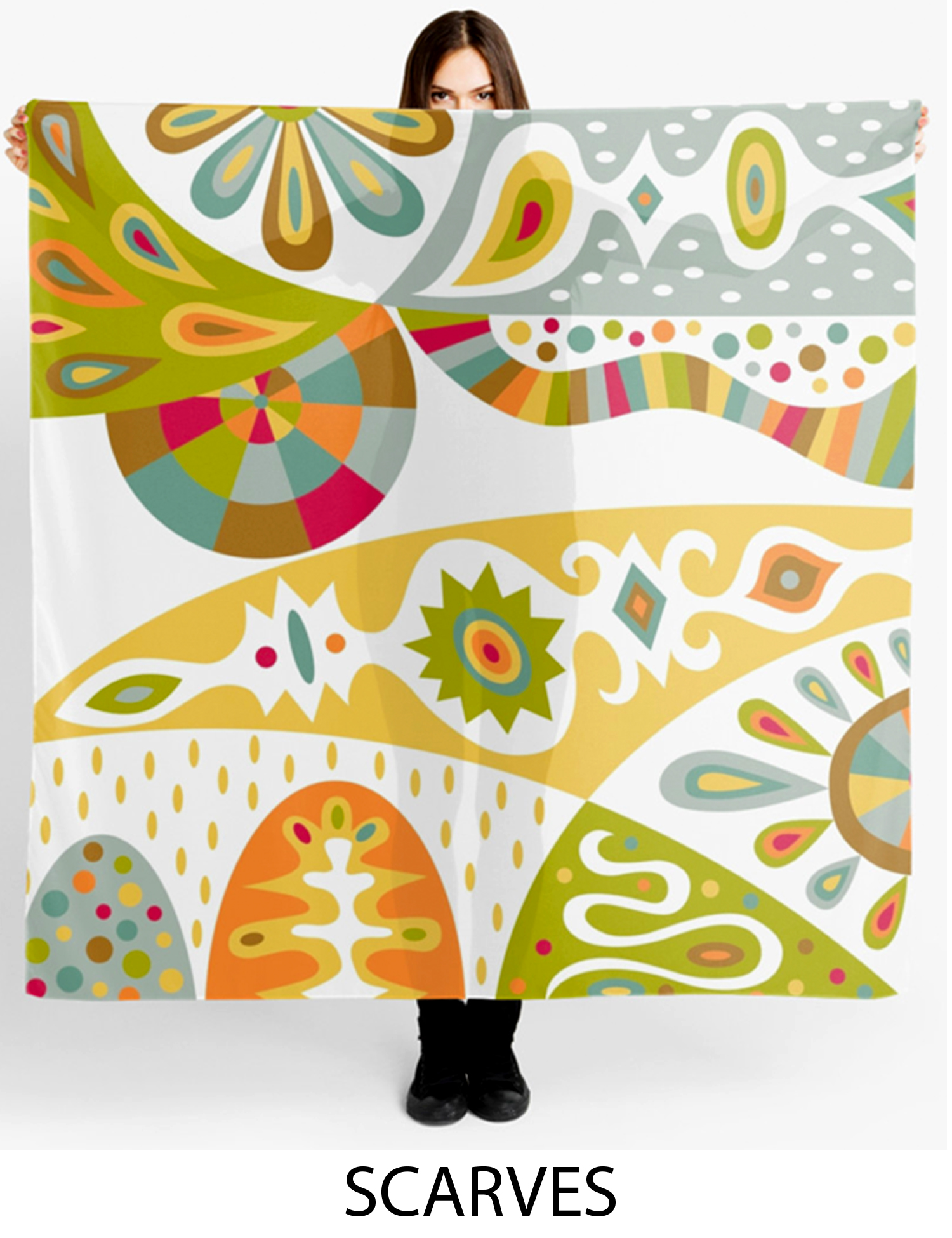 Scarves by Andi Bird