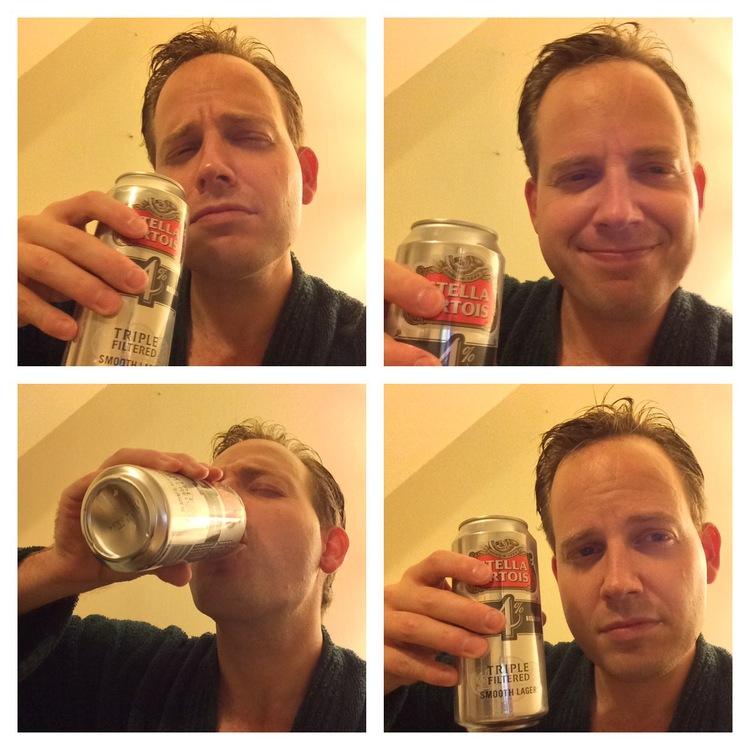 Ed Head toasts Val from London, UK.