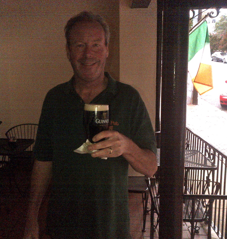 Pete Rose toasting Val from Fredericksburg, VA.