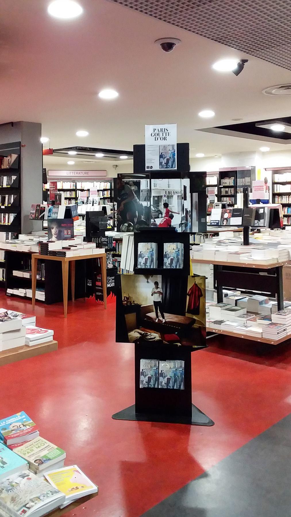 Exhibition at the Gibert Joseph Barbès bookshop. - Paris