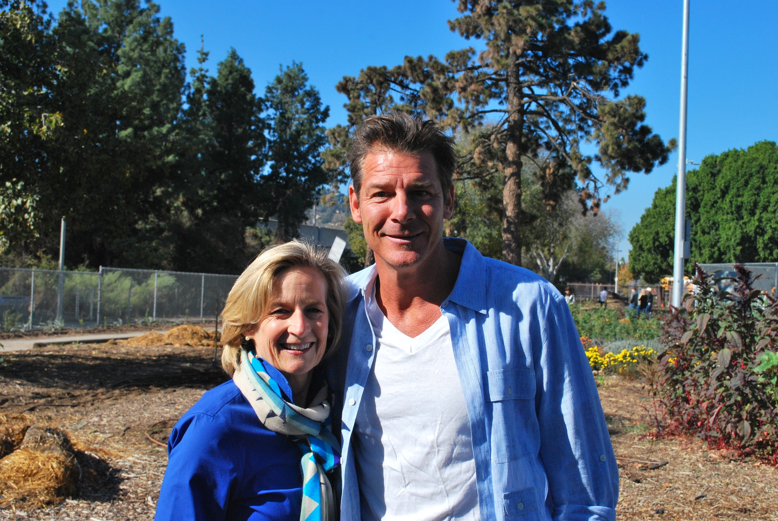 Thrilled to Meet Ty Pennington, Fellow Miracle-Groer and Celebrity Spokesperson