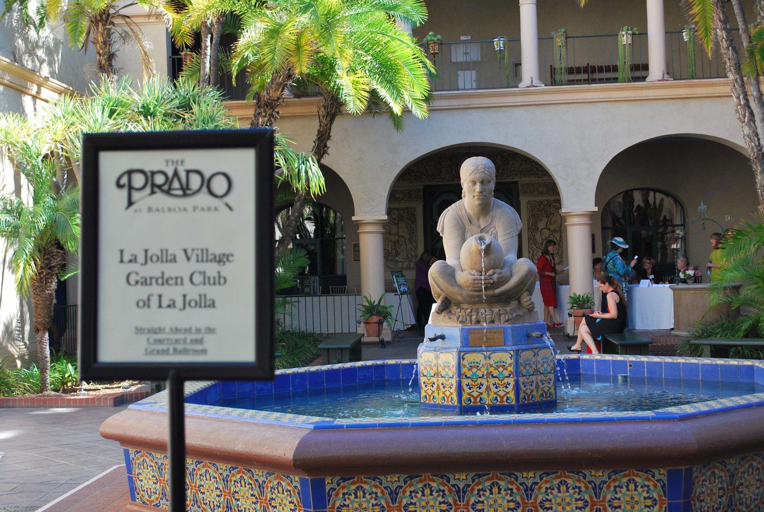Entrance to The Prado, Balboa Park