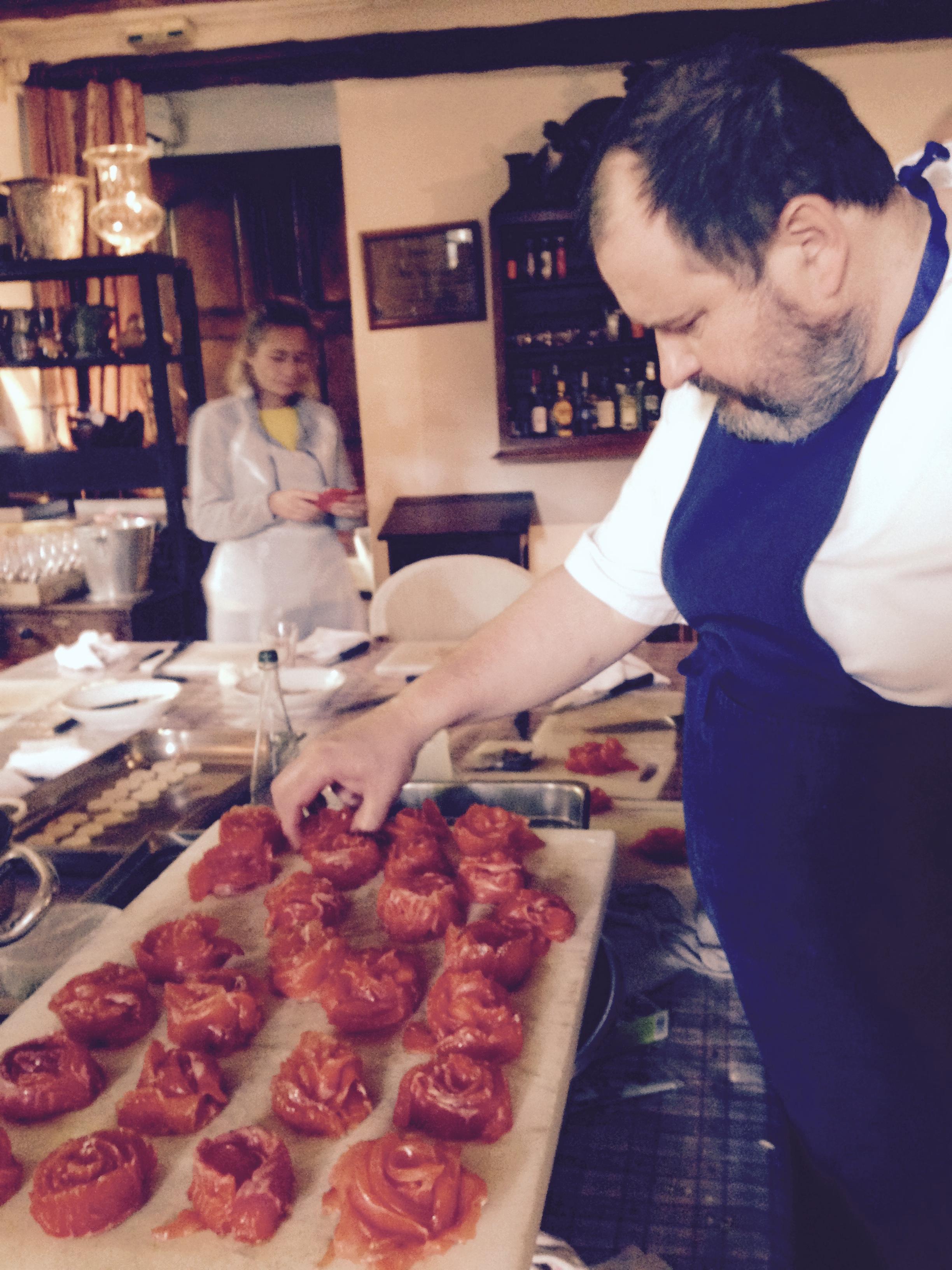 Chef Eric Sapet