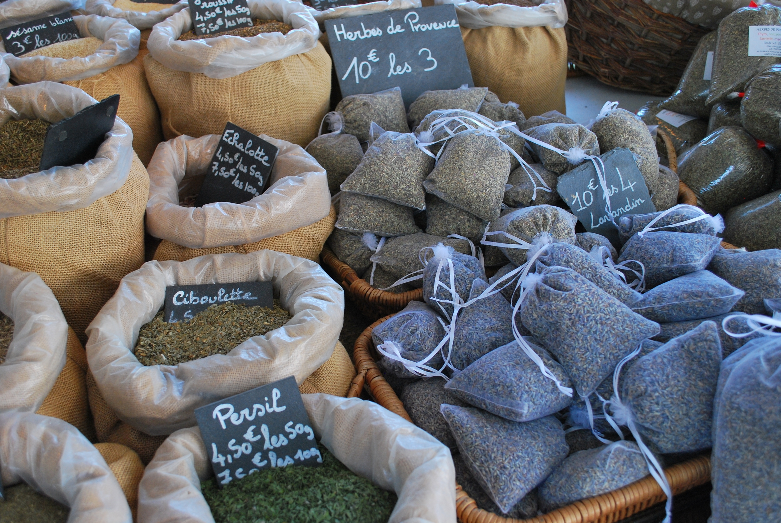 Lavender For Sale at Friday Market in Eygalieres