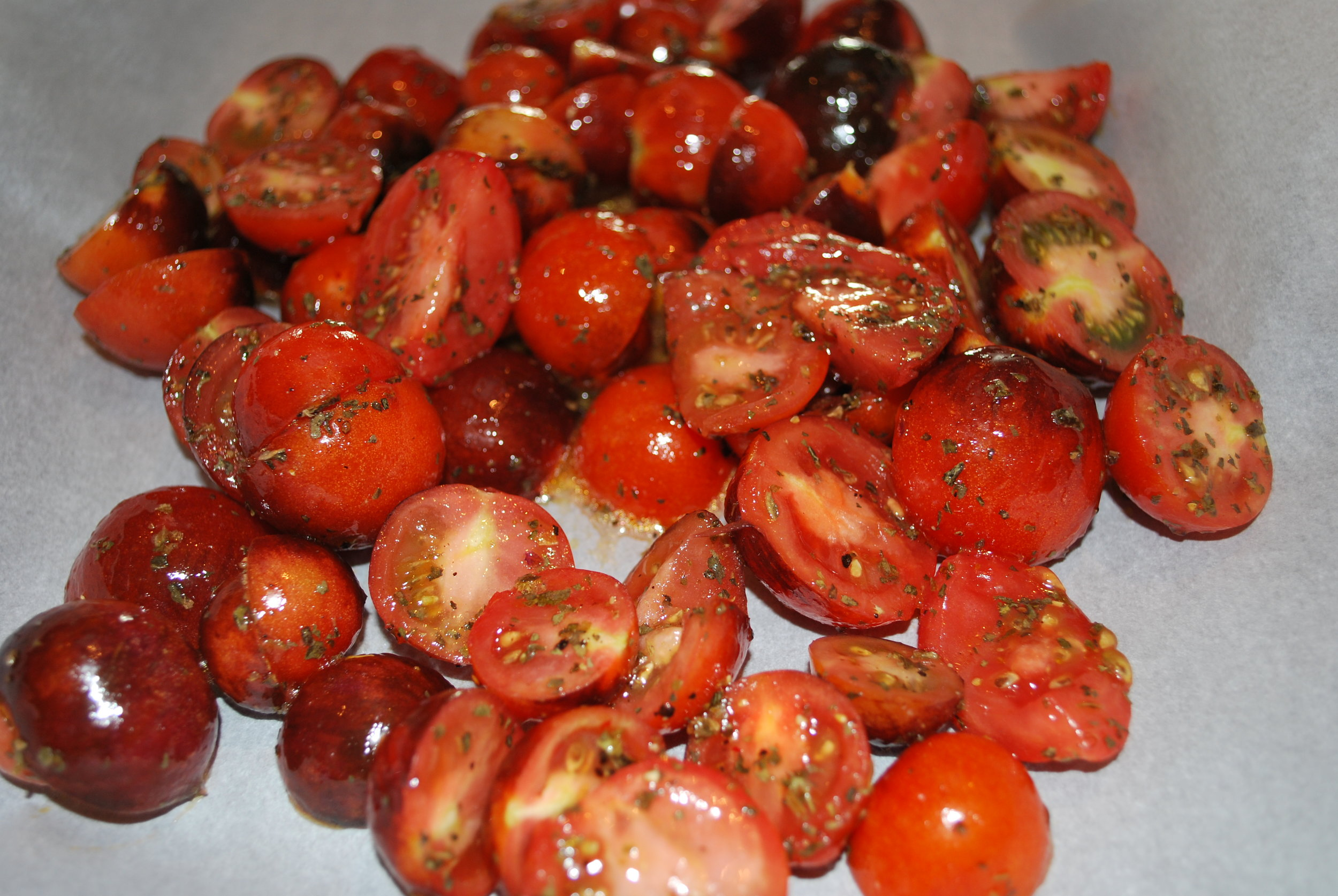 """Dressed to Thrill"" Cherry Tomatoes"