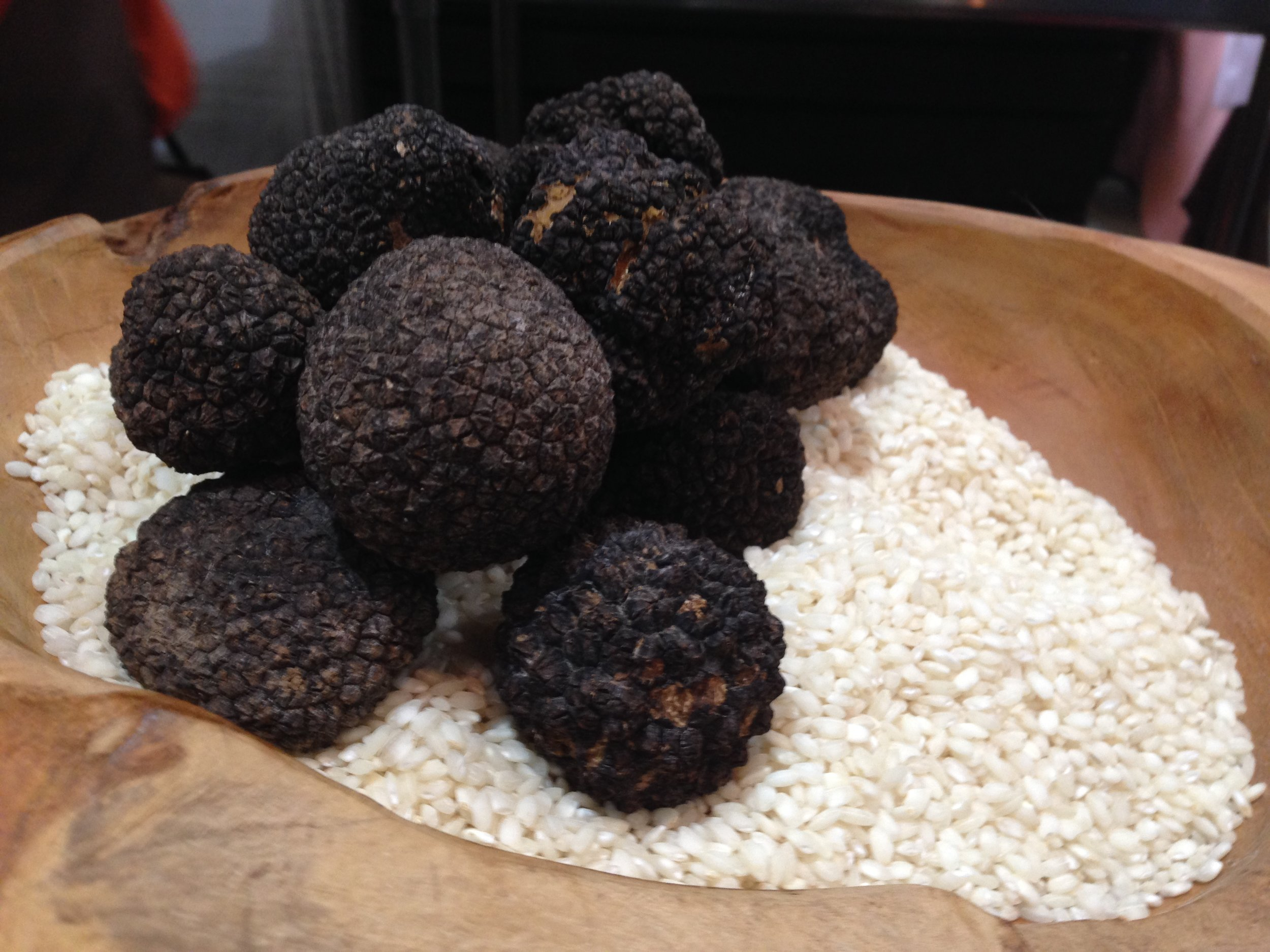 Do You Recognize These?  These Are The Famed French Black Truffles!