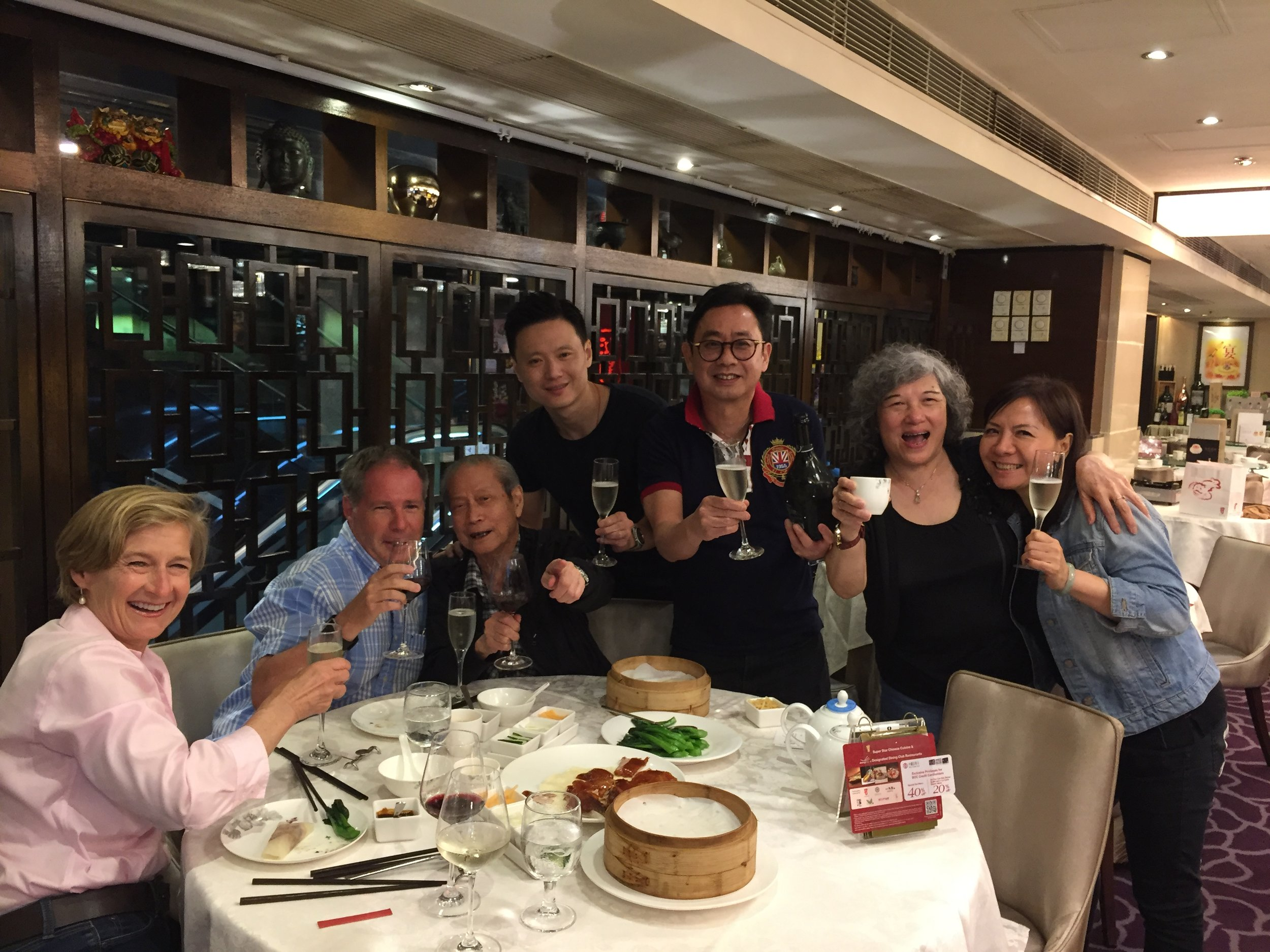 Embraced by Locals over Peking Duck