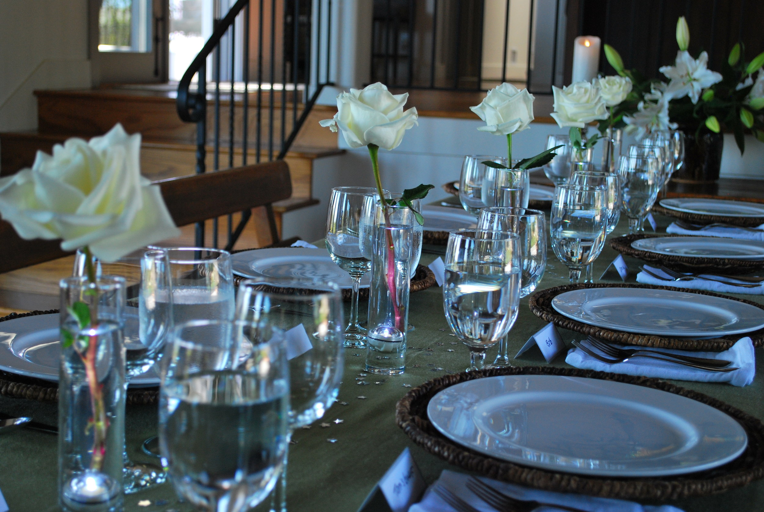The Table is Set for You!
