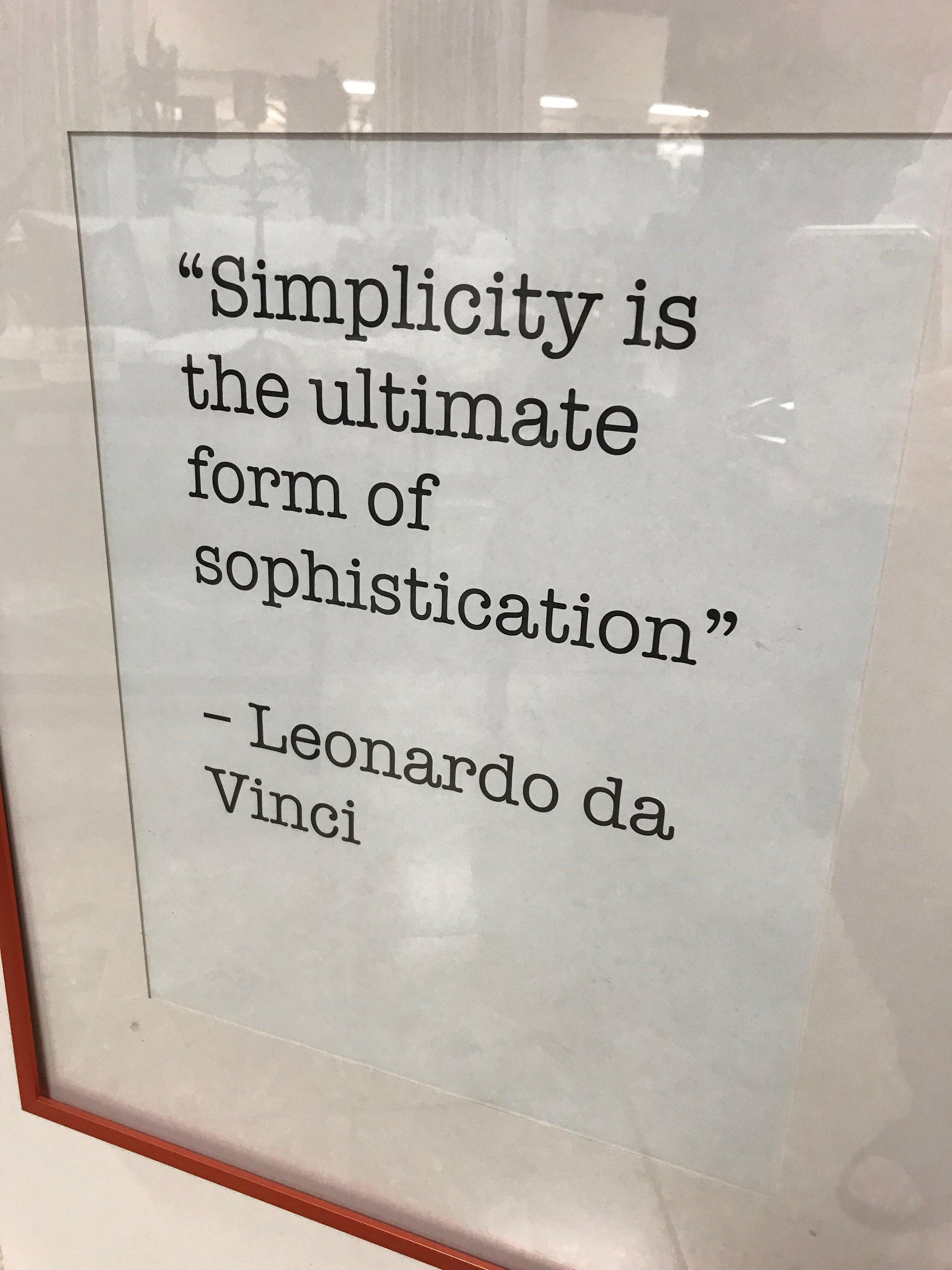 Leonardo Had It Right A Long Time Ago