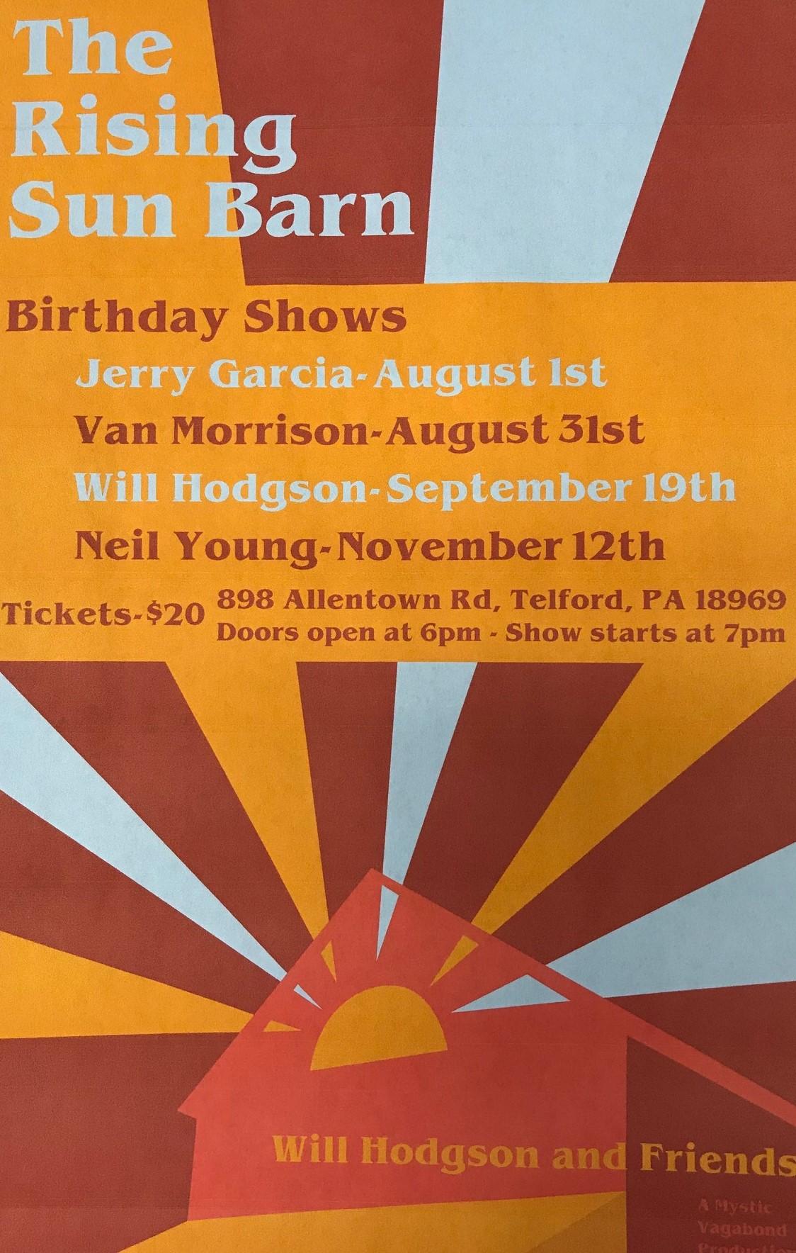 Will Hodgson - August 31 and November 12 barn shows.jpg
