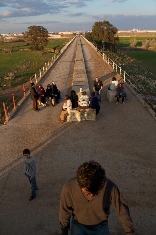 Visita al Canal de los presos guiada por J.L. Gutiérrez Molina, 2012