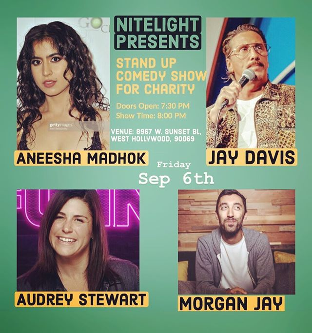 So incredible to have these Comedians link arms with us for justice! If you're in the LA area, we'd love to have you join us  on the Sunset Strip this Friday for an evening of laughs, benefiting our work with children in Thailand. Together we can!  9/6/19 at 8967 W. Sunset Blvd. West Hollywood  Doors open 7:30pm  #comedy #comedians  #charity #comediansforcharity #nitelight #sunsetstrip #laughfactory #prevention #humantrafficking #children #thailand
