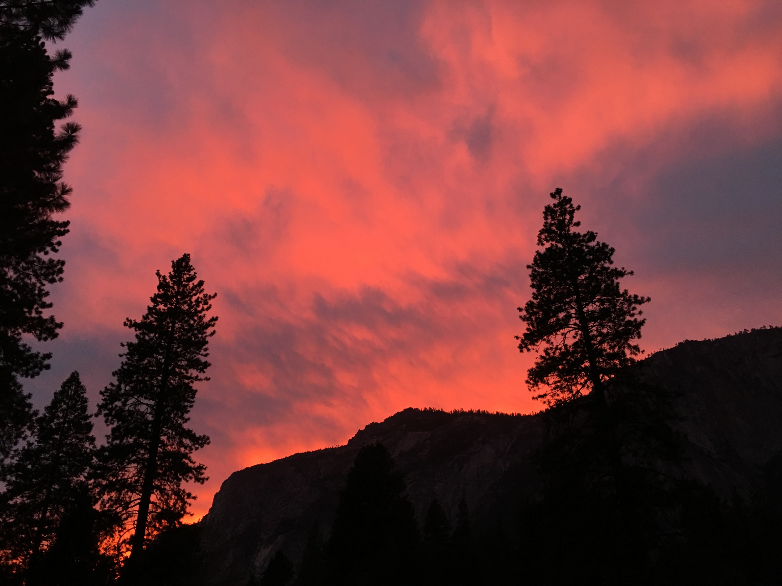 Yosemite Sunset, 2015