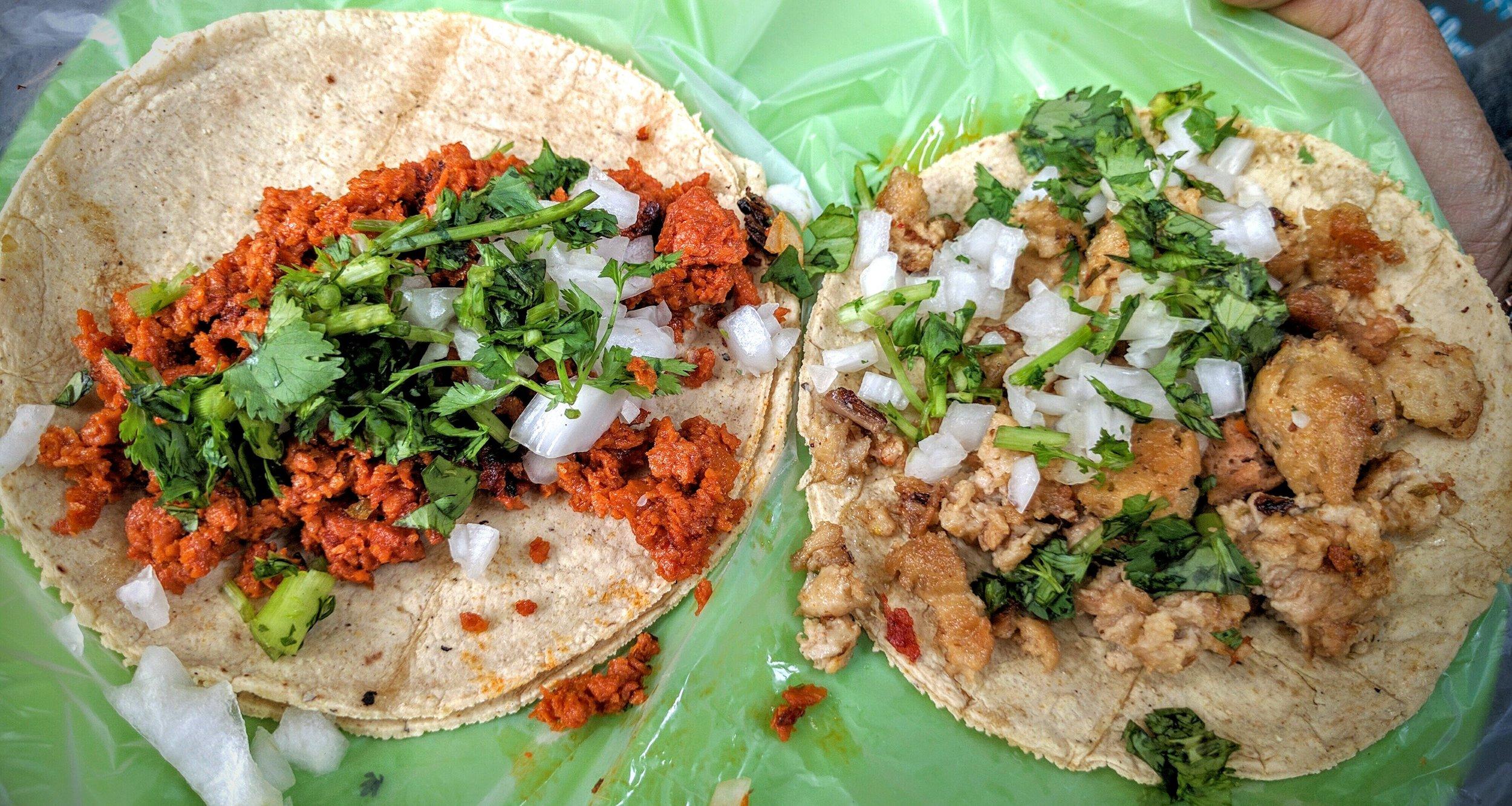 Vegan Street Tacos -Mexico City, Mexico