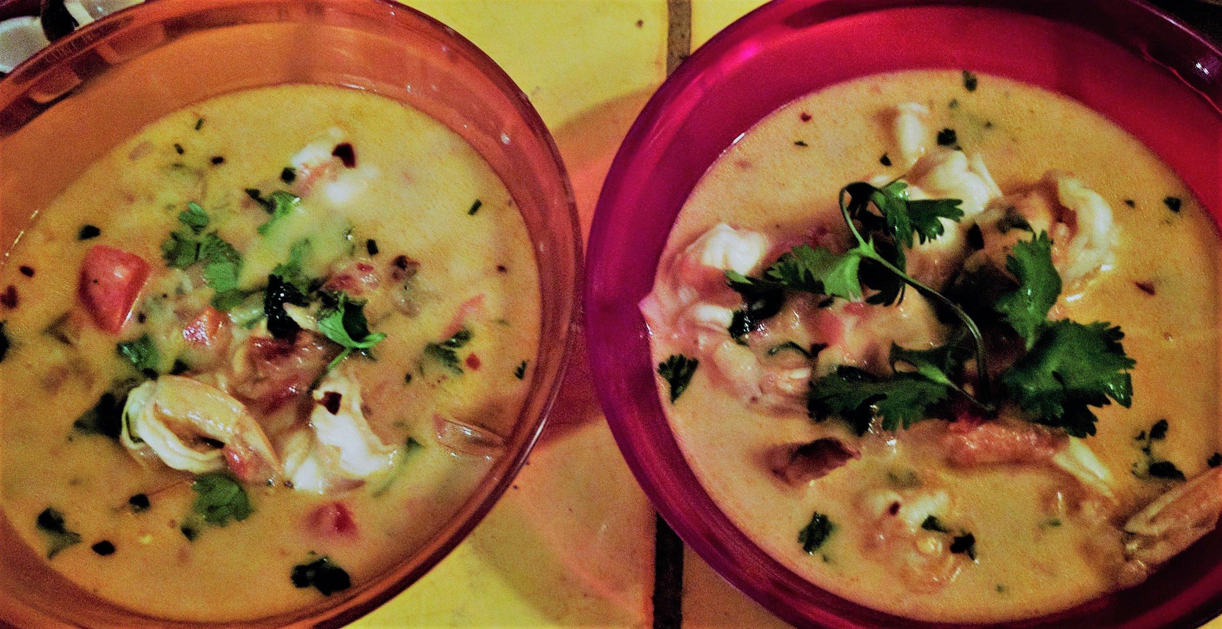 Shrimp Thai Soup - Guadalajara, Mexico