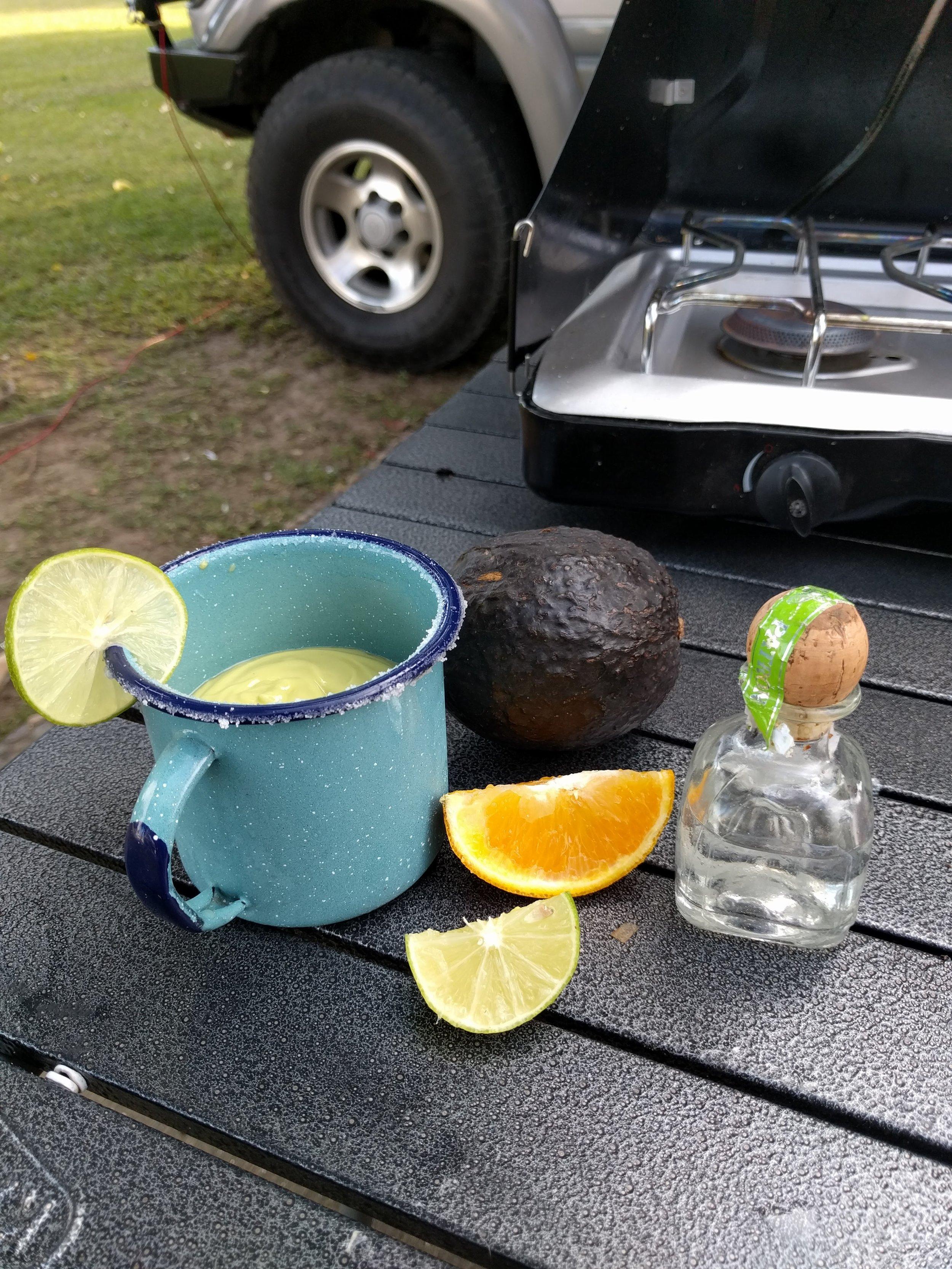 Avocado Margaritas! Tepic, Mexico