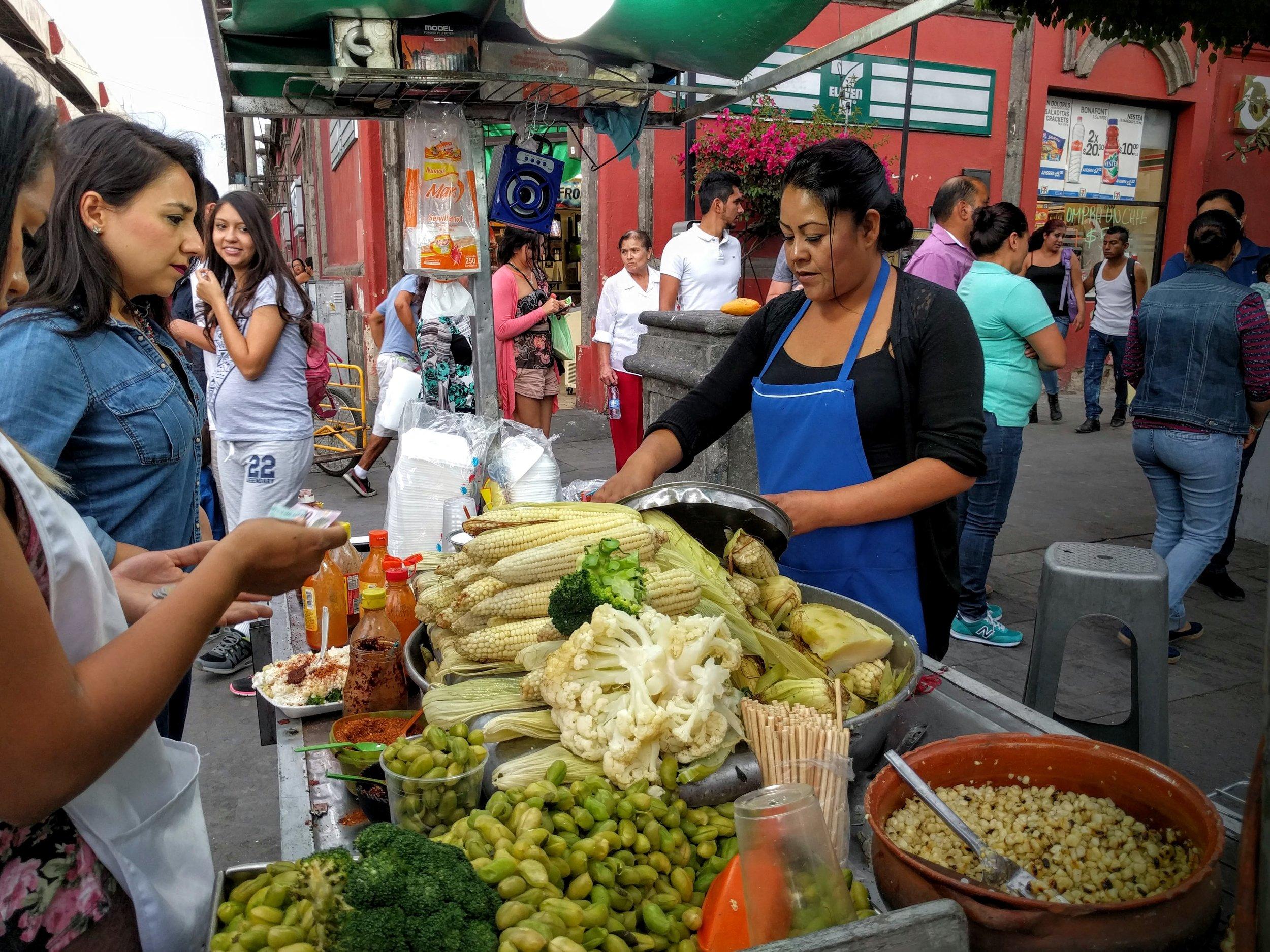 Street Veggies - Tlaquepaque, Mexico