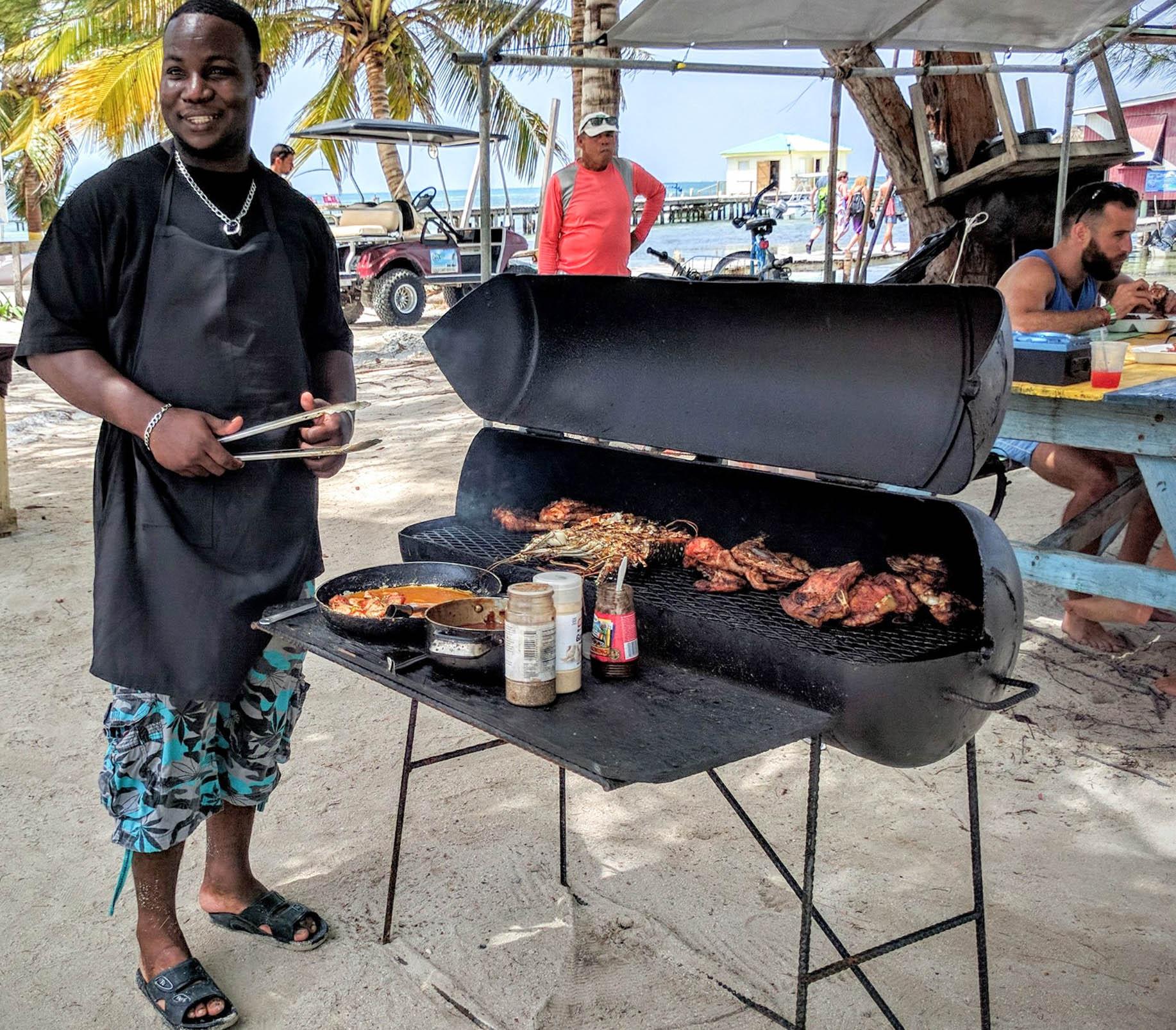 Chef Kareem - Caye Caulker, Belize