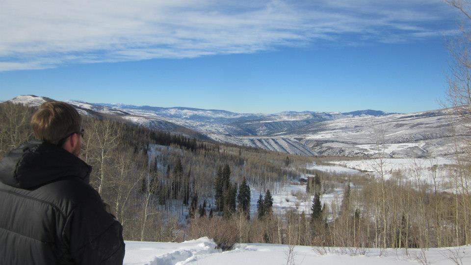 Views of the Gore Range