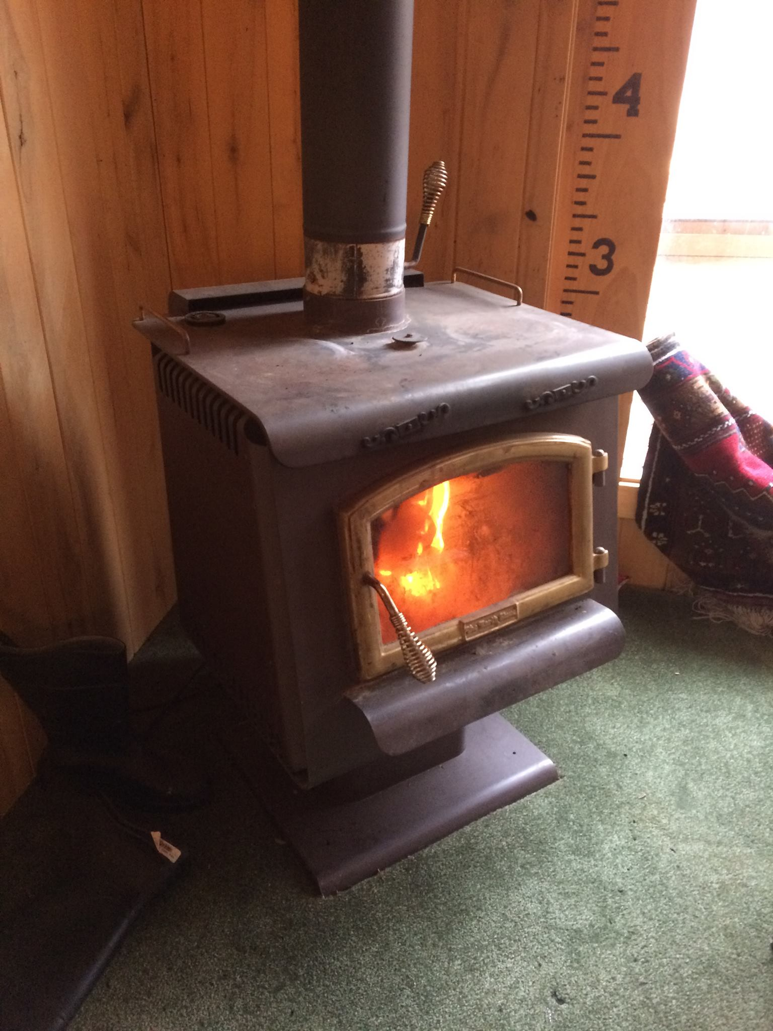 Original wood burning stove
