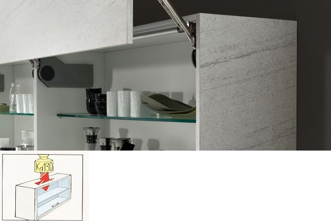 metal support rails for wall units
