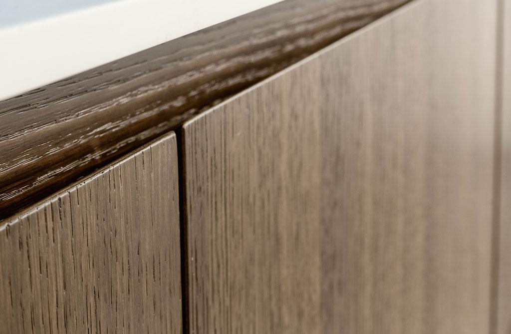 Heat-treated oak door