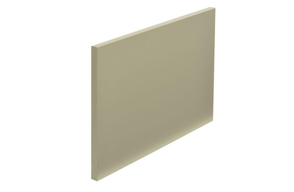Bi-laminated door of 18mm thick wooden fiber, coated with matte melamine