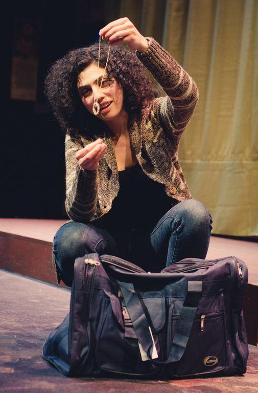 Ava Eisenson as Gina in  Mnemonist of Duchess County