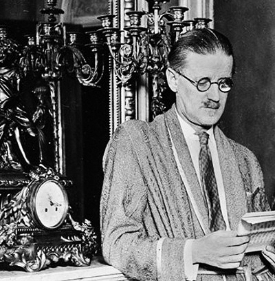 James Joyce (Source: Wikipedia)