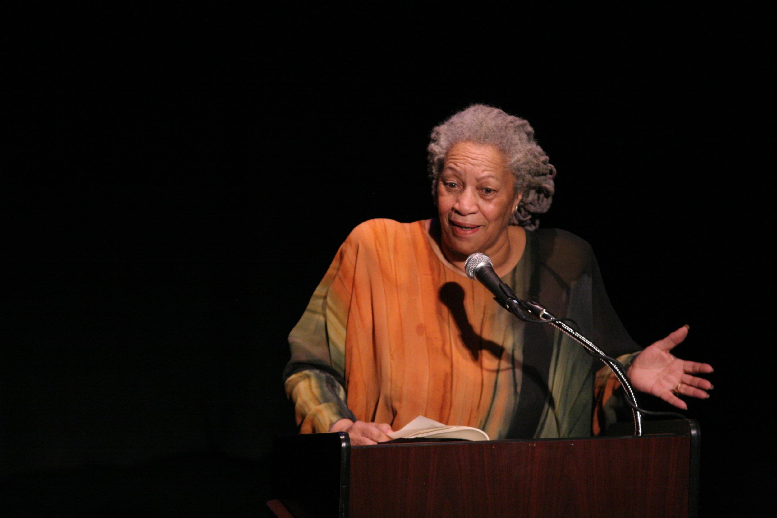 Toni Morrison (Source: Wikipedia)